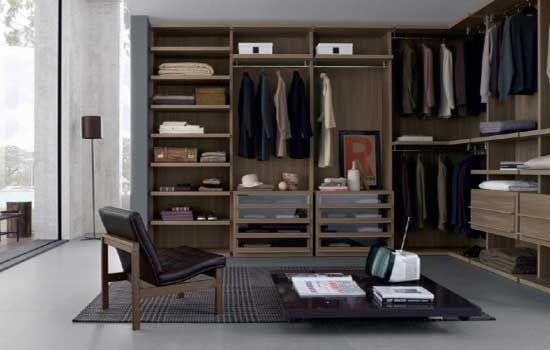 Modern walk in closet design ideas layout and plans for Modern walk in closets