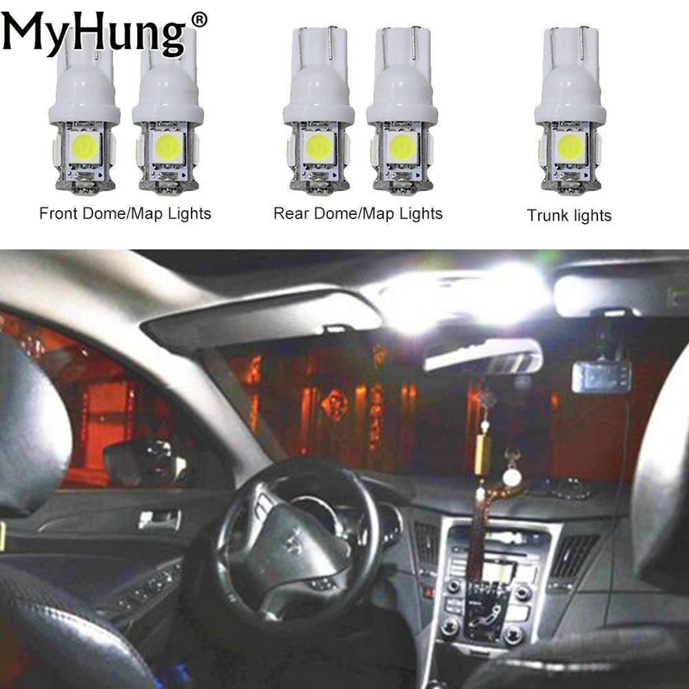 Convenience Bulbs Car For Suzuki S Cross Sunroof Led Headlight C10w W5w Replacement Bulb Dome Map Lamp White 5pcs Per Set Car Lights Headlights Car