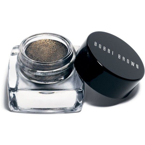 Bobbi Brown Metallic Long-Wear Cream Shadow (£19) ❤ liked on Polyvore featuring beauty products, makeup, eye makeup, eyeshadow, brown and bobbi brown cosmetics