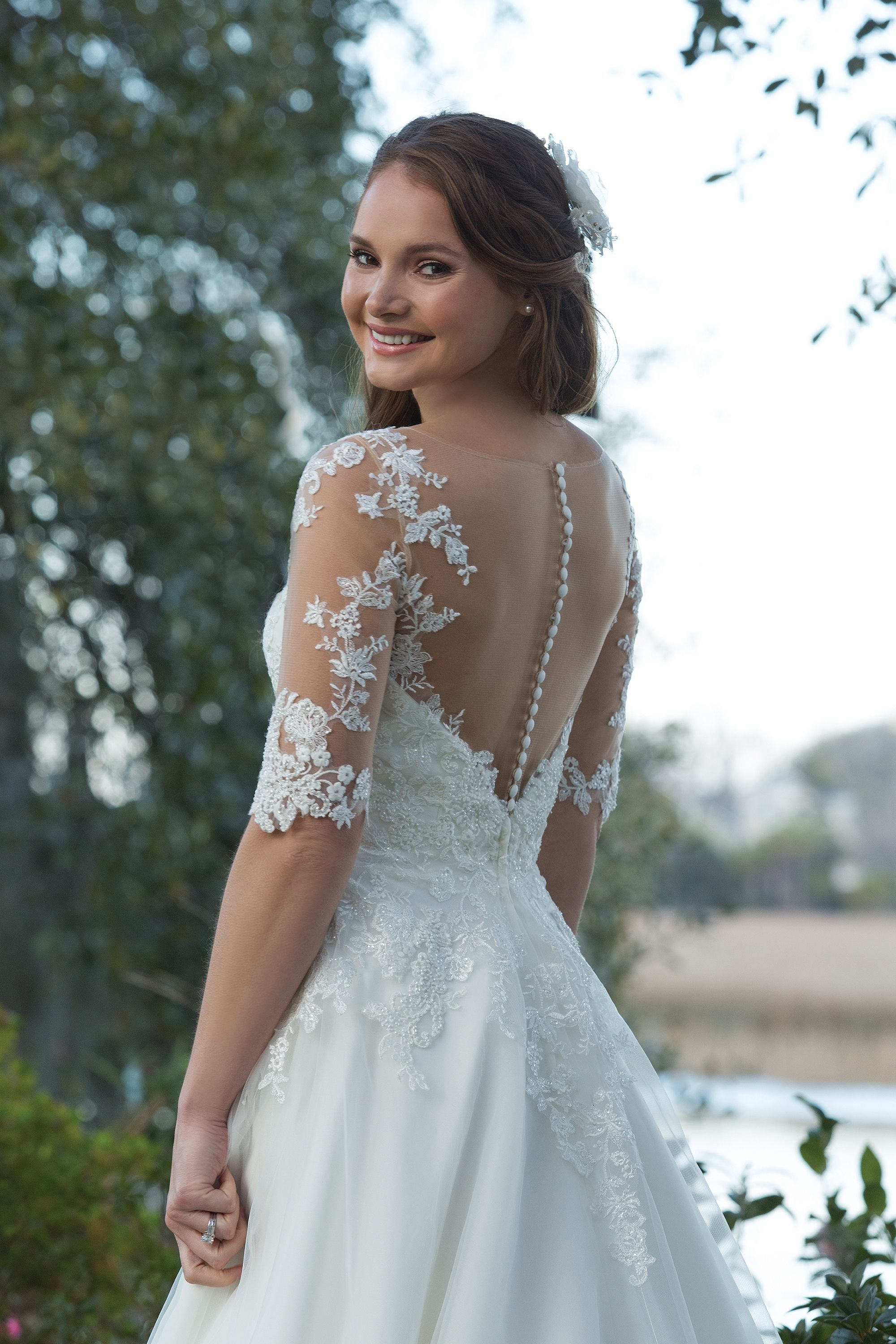 29+ Sweetheart a line tulle and lace wedding dress ideas