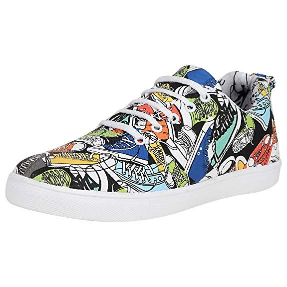 23938be84ace Kraasa Men s Multicolor Synthetic Sneakers - 9