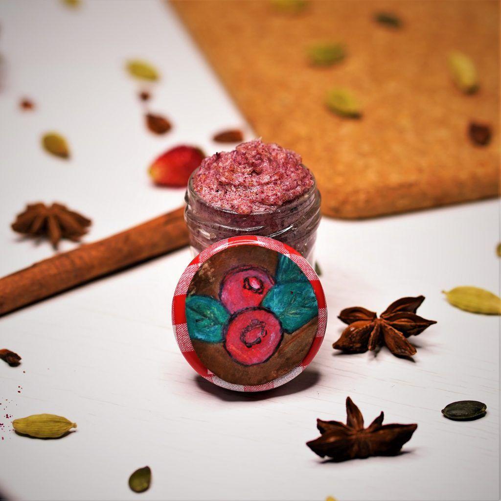 Cranberry sugar diy lip scrub cranberry powder skin