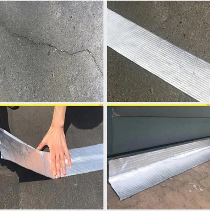 Us 36 99 Aluminum Foil Butyl Waterproof Tape 1mm Thick M Dunpie Com In 2020 Waterproof Tape Repair Tape Aluminum Foil