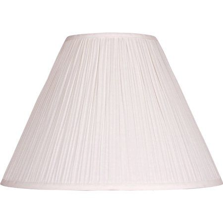 Mainstays 15 Inch Beige Pleat Shade Size 7x18x12 5 Inch Pleated