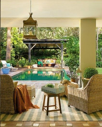 Jurnal de design interior - Amenajri interioare : Oaz de frumusee i elegan n Andalusia