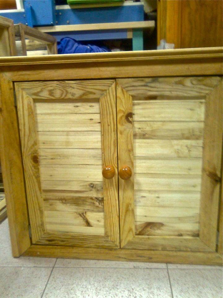 Armario para cocina muebles hechos con palets - Armarios hechos con palets ...