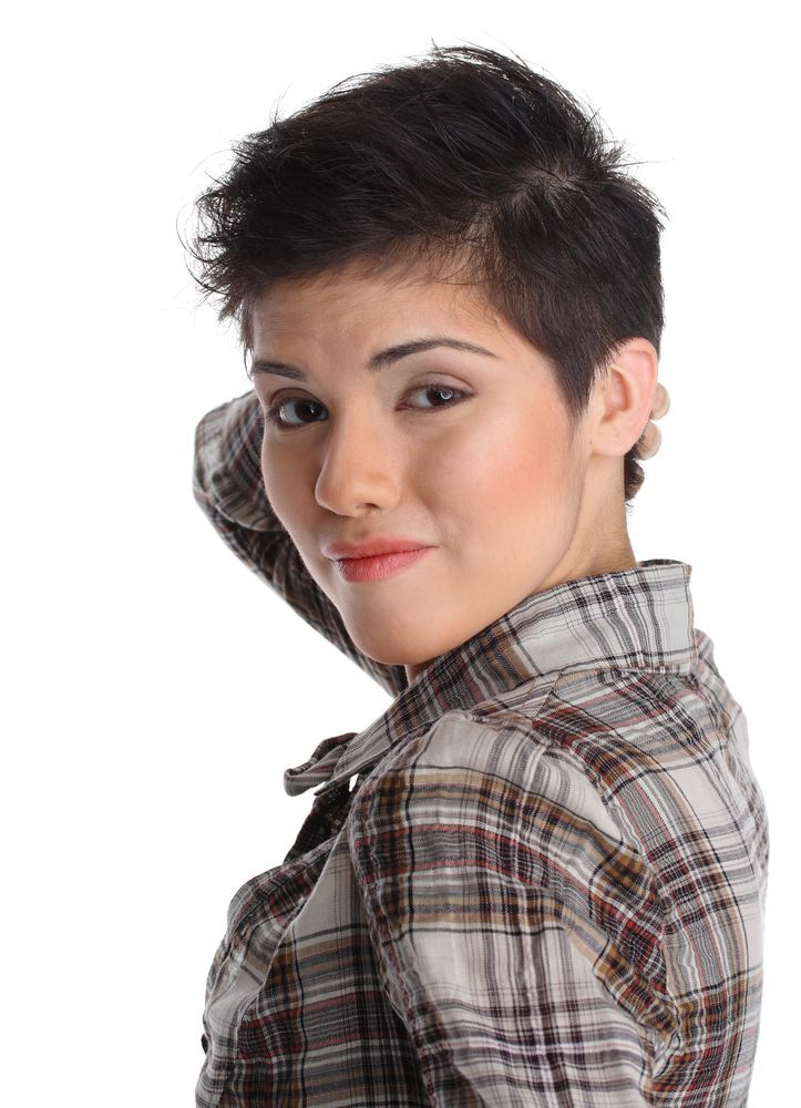 women with shaved hair styles Chic Short Hairstyles sassy hair