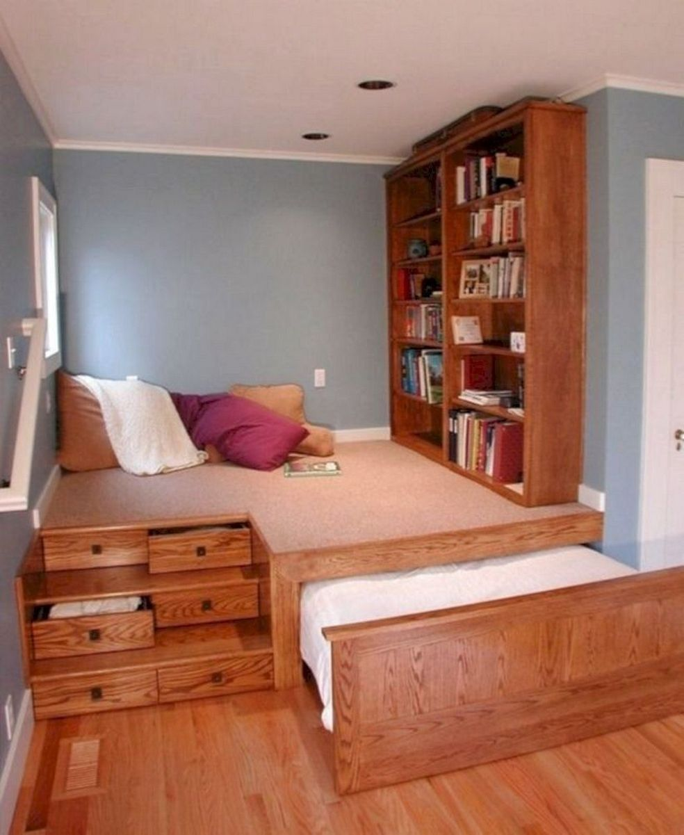 55 Model Bedroom Furniture Design Ideas for Small ... on Model Bedroom Ideas  id=55355