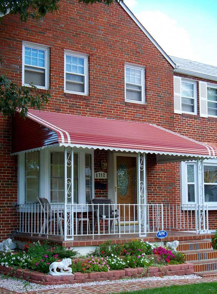 Diy Awnings Retractable Over Doors Ideas Patio Awnings