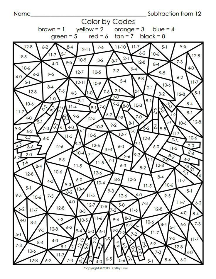 Free Printable Coloring Pages Color Worksheets Math Coloring Math Coloring Worksheets