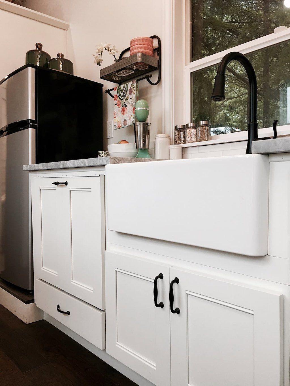 Vintage Glam Tiny house kitchen, Tiny house swoon, Tiny
