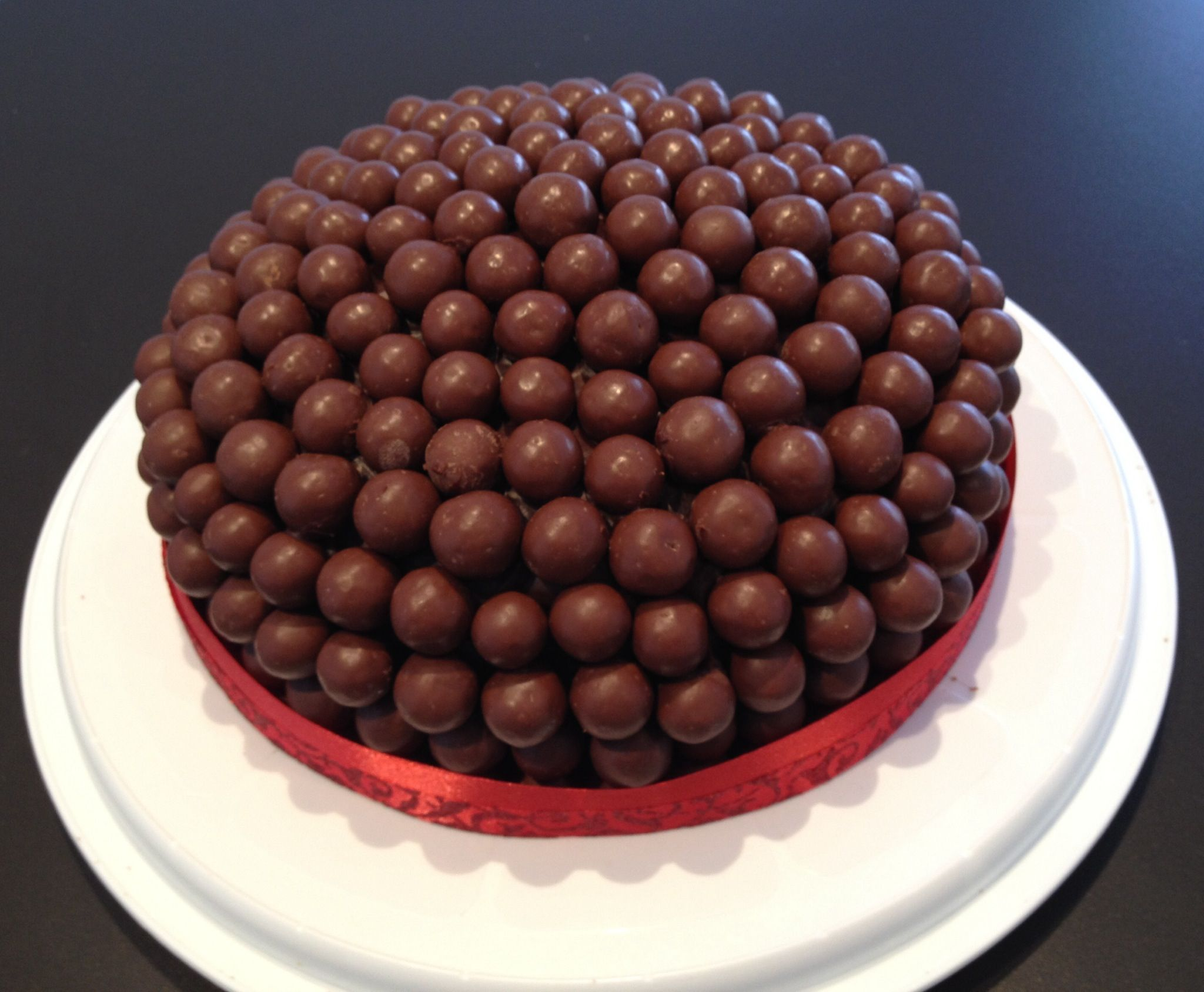 Maltesers Chocolate Cake & Malt Filling, Covered in Dark Chocolate ...