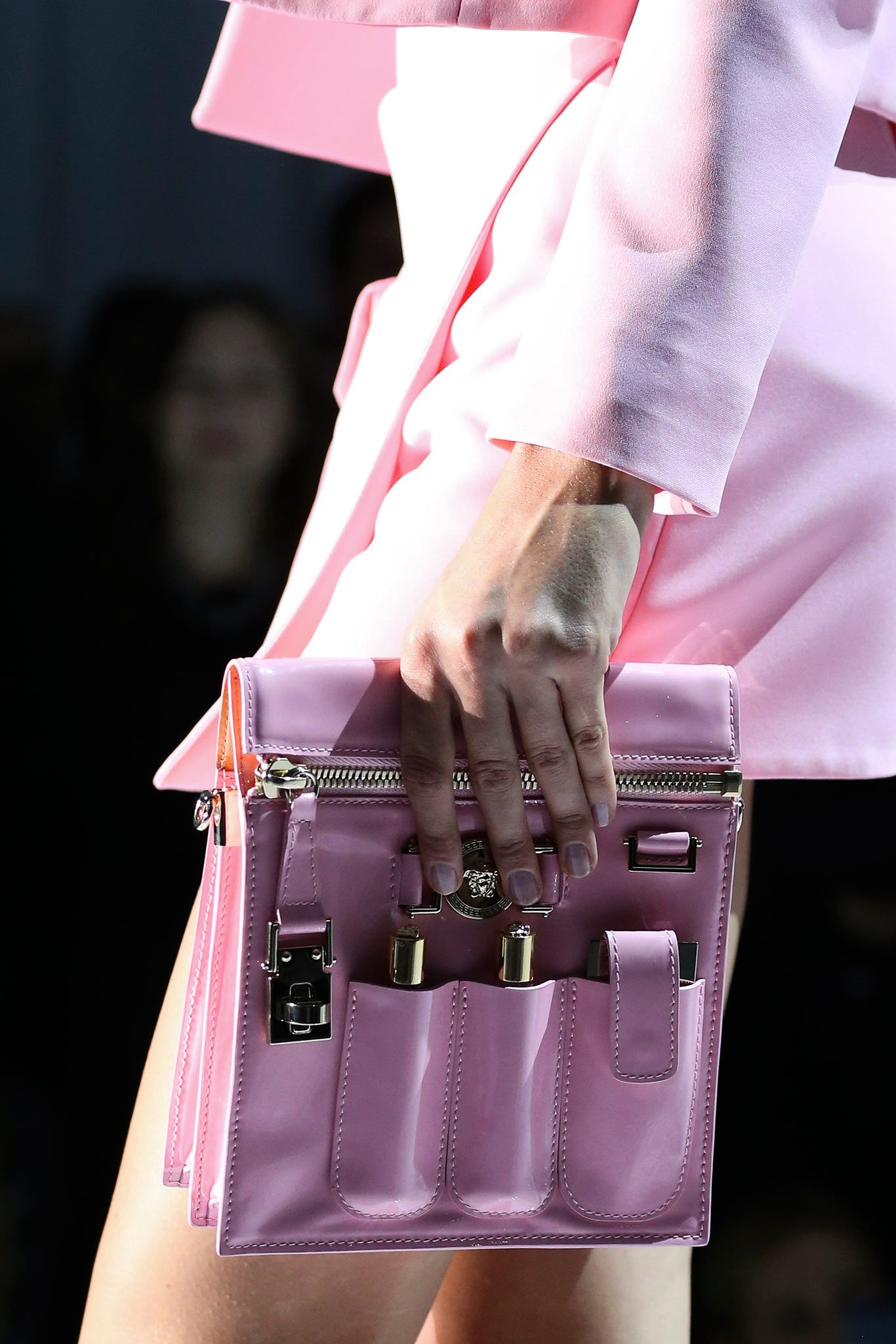 c6234a180b8 Spring 2015 Ready-to-Wear - Versace .. some great accessories in ...