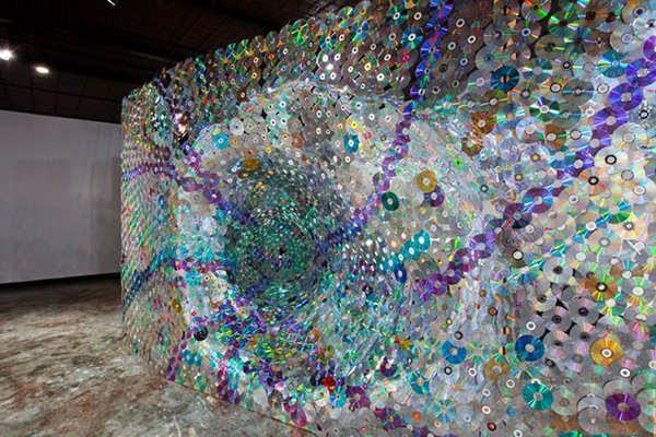 How to Recycle: Recycled CD's as an Art & Decor | Crafting With CDs