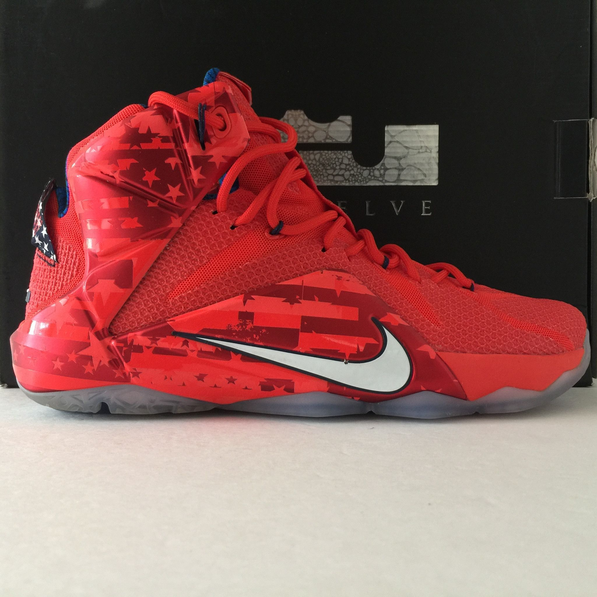6016a8cd5f179 ... reduced nike lebron 12 xii se independence day size 12 fa457 93899 ...