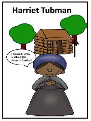 harriet tubman biography and fun activities harriet tubman rh pinterest com Harriet Tubman Clip Art Cute Harriet Tubman Clip Art Black and White