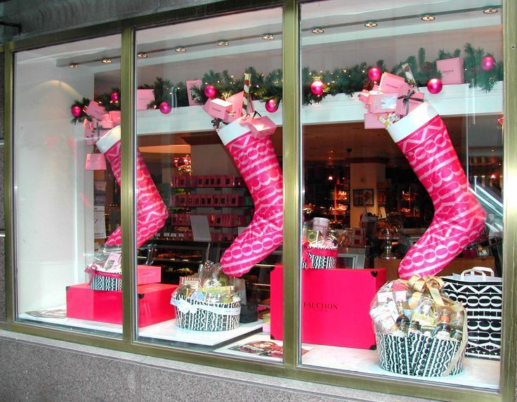Christmas store displays fauchon christmas window for Salon xmas decorations