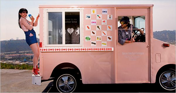 The Heartschallengeran Organic Ice Cream And Candy Truck By Heartsrevolution