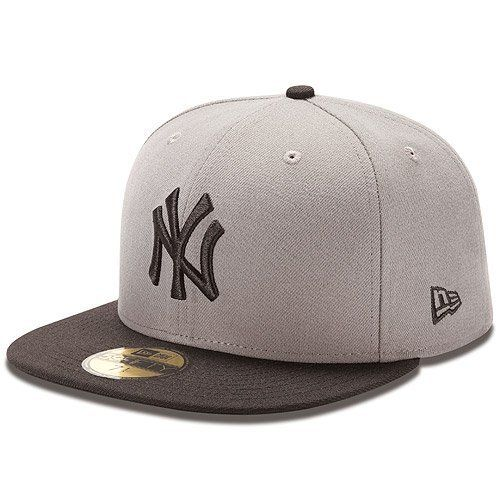 MLB New York Yankees MLB Basic Stm Gry 59Fifty by New Era.  30.29 ... b241e03a6d49