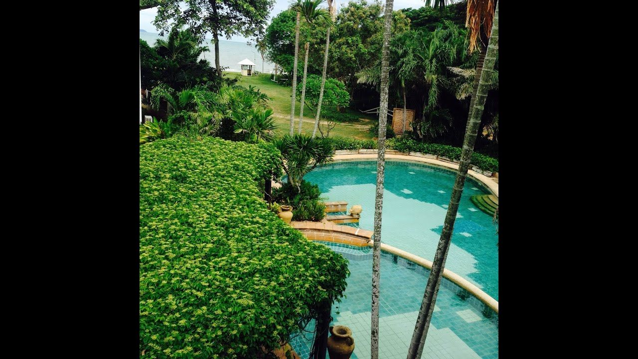 Beachfront Villa For Sale In Pattaya Na Jomtien 14mil Sea