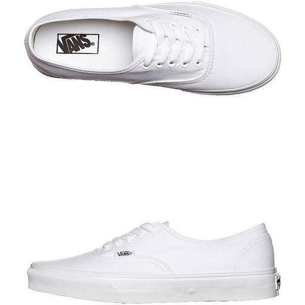 5ade5282ede5fe Vans Womens Authentic Shoe ( 40) ❤ liked on Polyvore featuring shoes