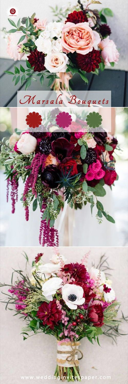 2019 Trendiest Marsala/Burgundy Wedding Colorsdiy