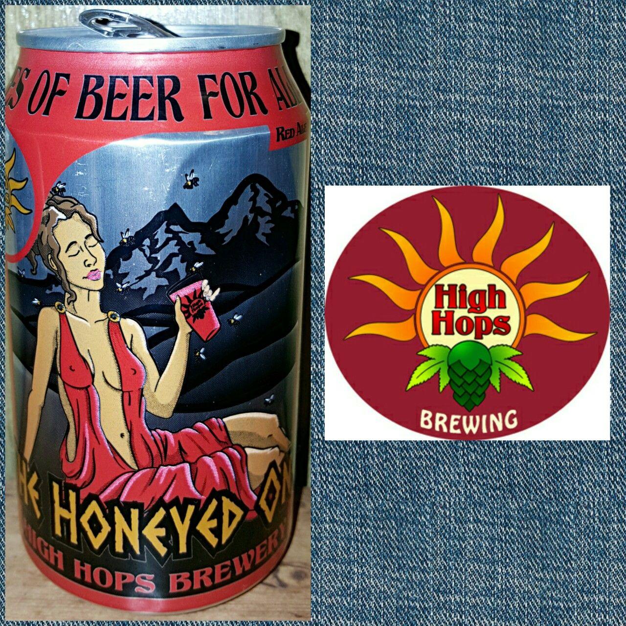 The Honeyed One Red Ale High Hops Brewing Windsor Co 810 B Craftbeer Beer Craft Beer Beer Beer Can