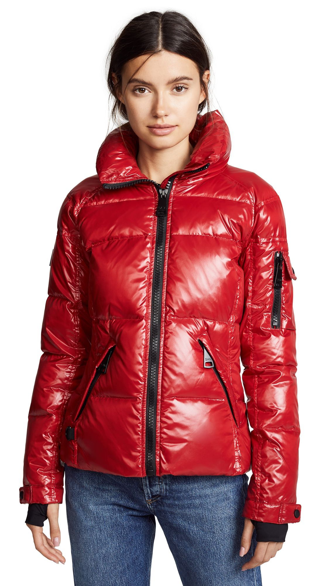 6a9bc2967 Shop SAM. FREESTYLE SHORT DOWN JACKET, CANDY, starting at ¥35804 ...