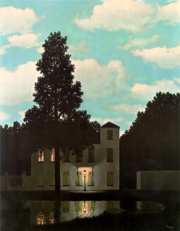 Rene Magritte Empire Of Light L Empire Des Lumi 232 Res