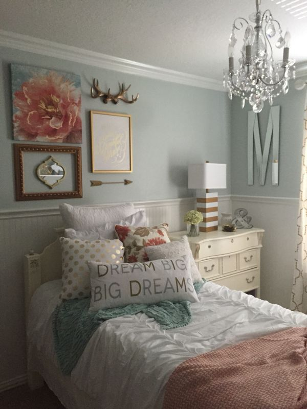 Teen Girls Bedroom Design Ideas and Color