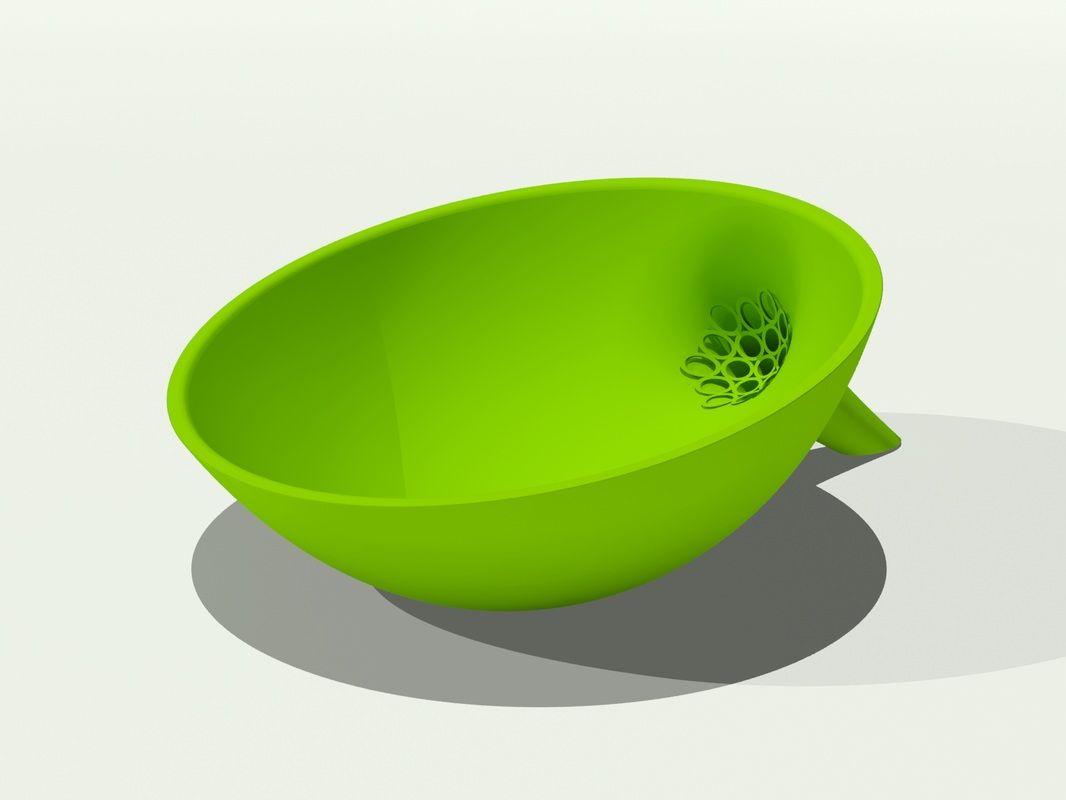 ONLINE SHOP - CAVEMAN FACTORY, LLC  - Anton Strainer Bowl - $25, plus $10 shipping.  I WANT THIS!!!!!