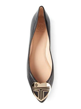 04387cca493 Tory Burch  hayes  Ballerinas - Vanilla Shoes   Bags - Farfetch.com ...
