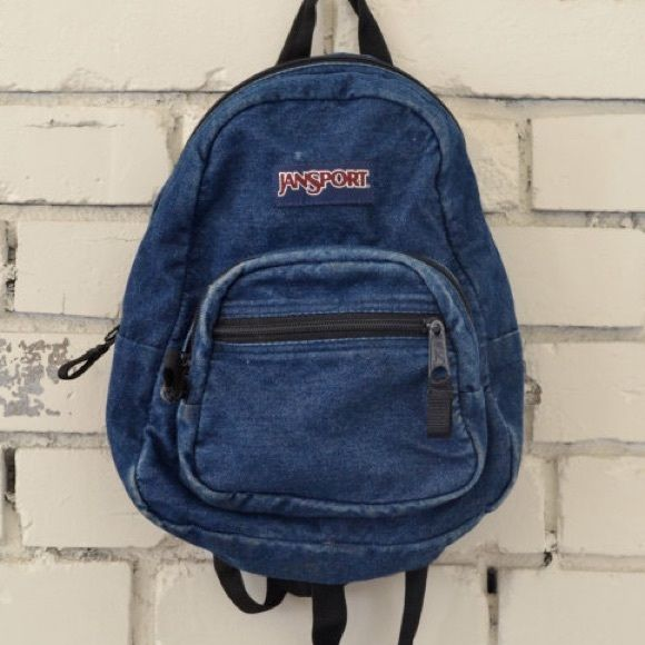 ISO denim mini jansport been looking for this bag for so long ...