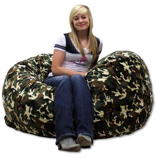 Camo Bean Bag Chair