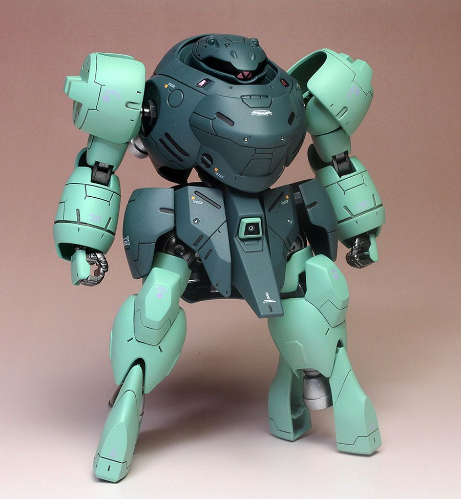 Rogue Telemetry - gunjap: [Painted Build] HG IBO 1/144 MAN RODI:...