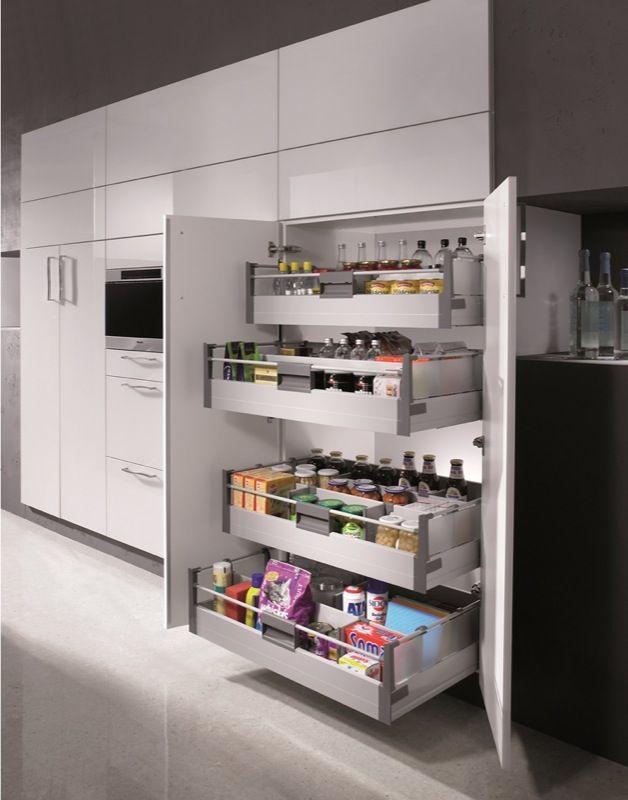 Agencement et quipements de cuisines haut de gamme sur for Placard garde manger cuisine