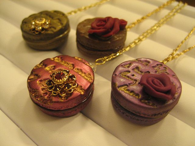 Macaron Necklace | Flickr - Photo Sharing!