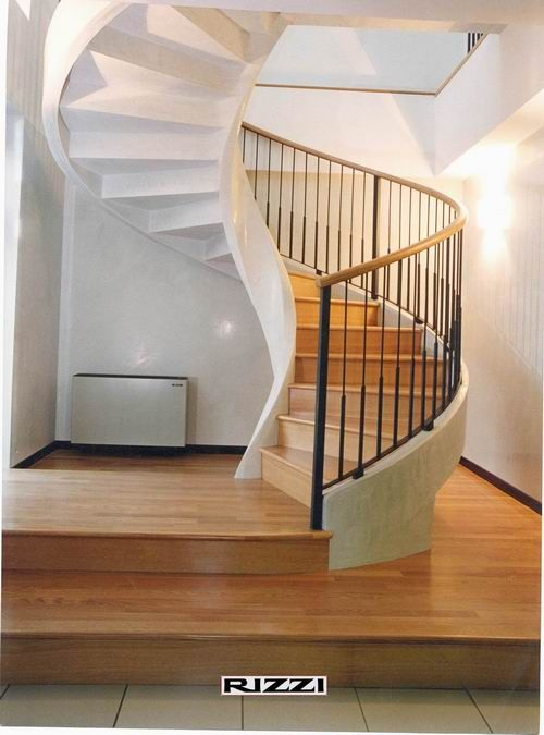 Scale per interni a chiocciola elicoidali ideare casa scale pinterest scale and staircases - Scale in cemento per interni ...