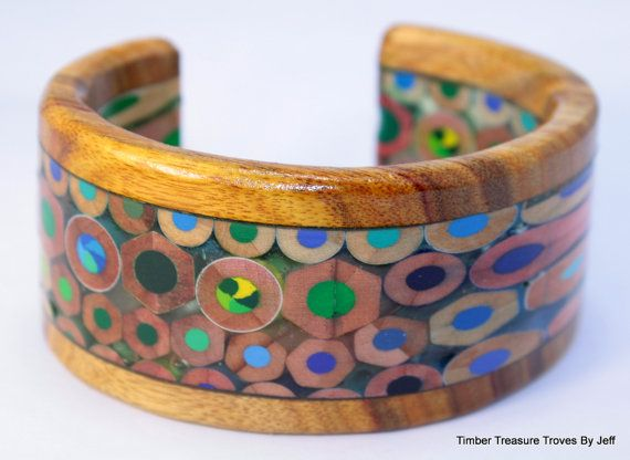 Hey, I found this really awesome Etsy listing at https://www.etsy.com/listing/258531346/colored-pencil-cuff-bracelet-color
