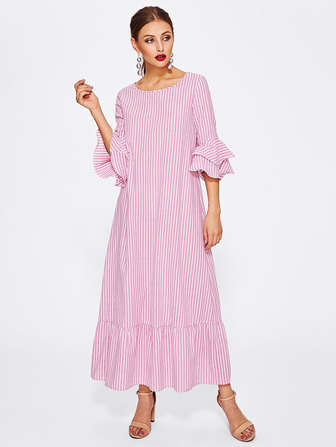 Consigue este tipo de vestido informal de SheIn ahora! Haz clic para ...