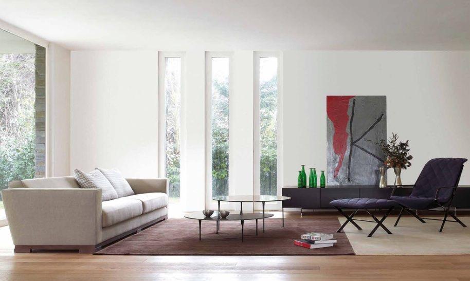 10 Designs That Incorporate The Rule Of Three Freshome Com Interior Window Trim Modern Windows Living Room Windows