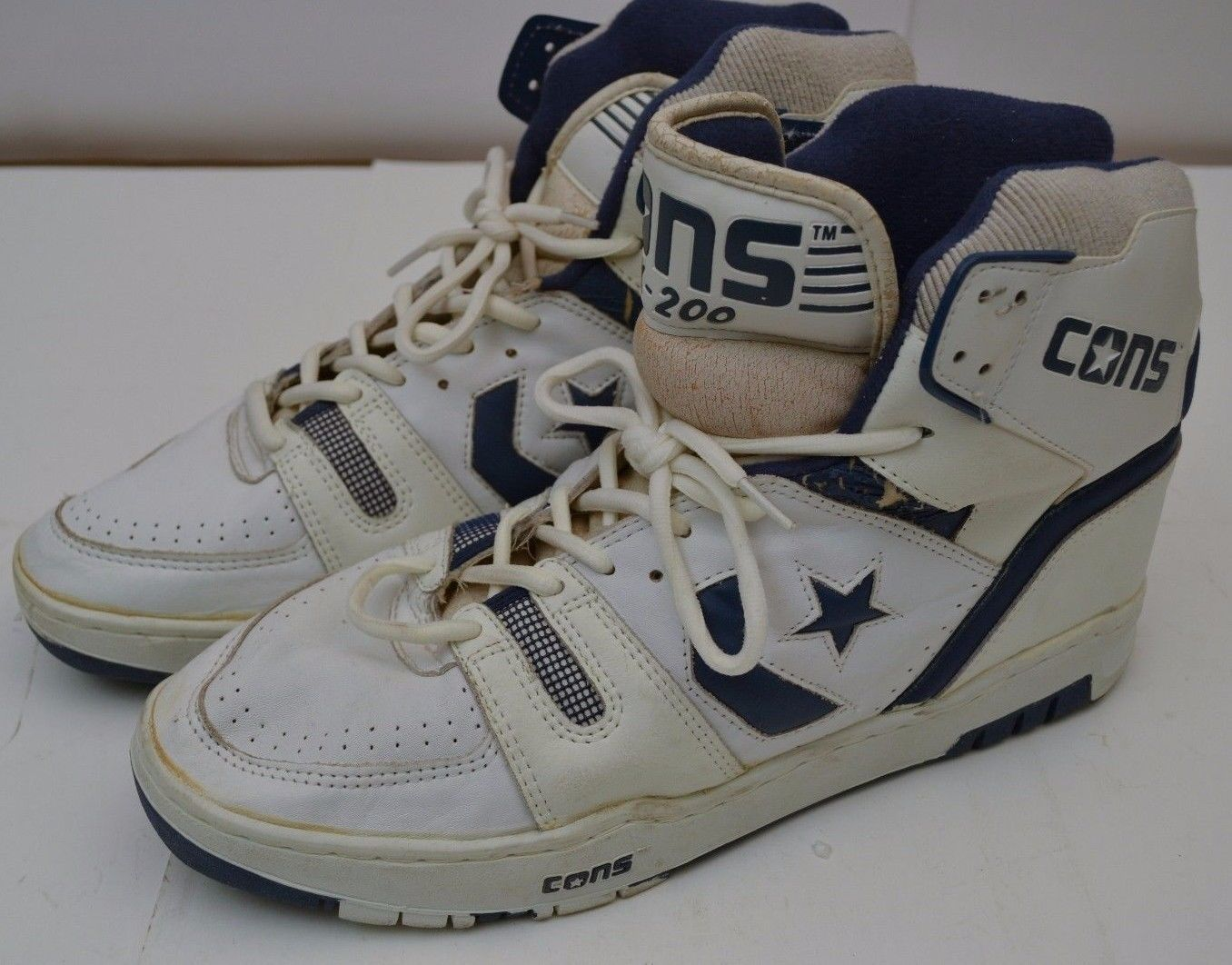 outlet store ce93b 0a608 1986 Basketball Vintage Converse Weapon Basketball 1986 Zapatos Talla US 13  5447b5