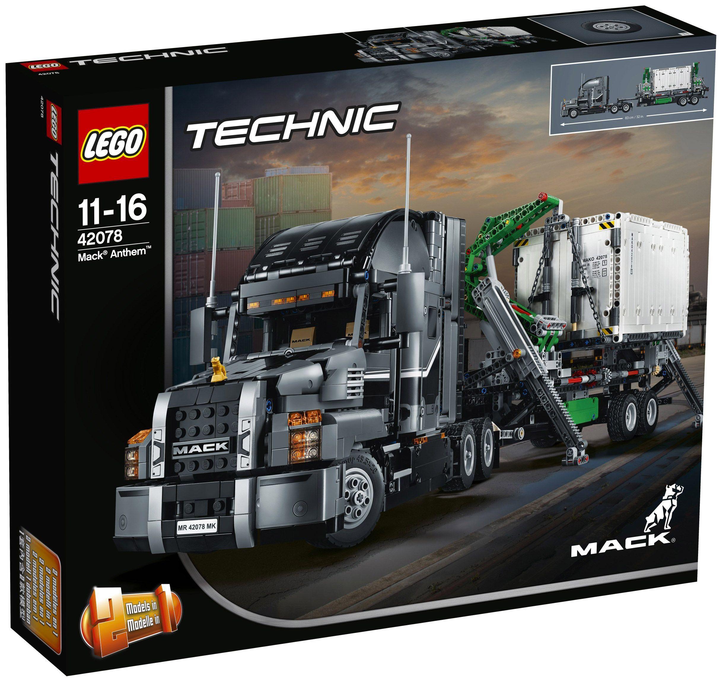 lego technic 42078 mack anthem lego technic pinterest l go lego et vehicule. Black Bedroom Furniture Sets. Home Design Ideas