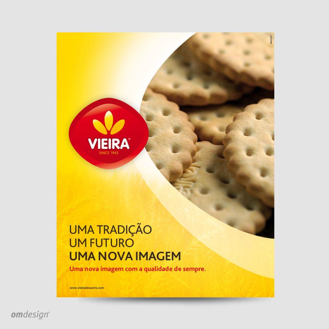 Anúncio de imprensa Vieira (2011)  #Omdesign #Design #Portugal #LeçadaPalmeira #Since1998 #AwardedAgency #DesignAwards #PressAd #Vieira #VieiradeCastro #Bolachas #Biscuits #Amêndoas #Almonds #Rebuçados #Sweets #FamalicaoMadeIn #PortugalFoods