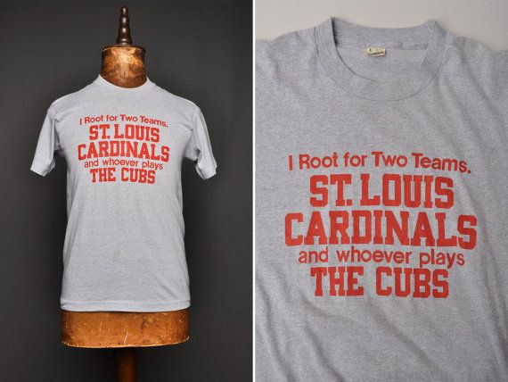 79028e0c3 Vintage 80s St. Louis Cardinals Whoever Plays the by NewmanHall