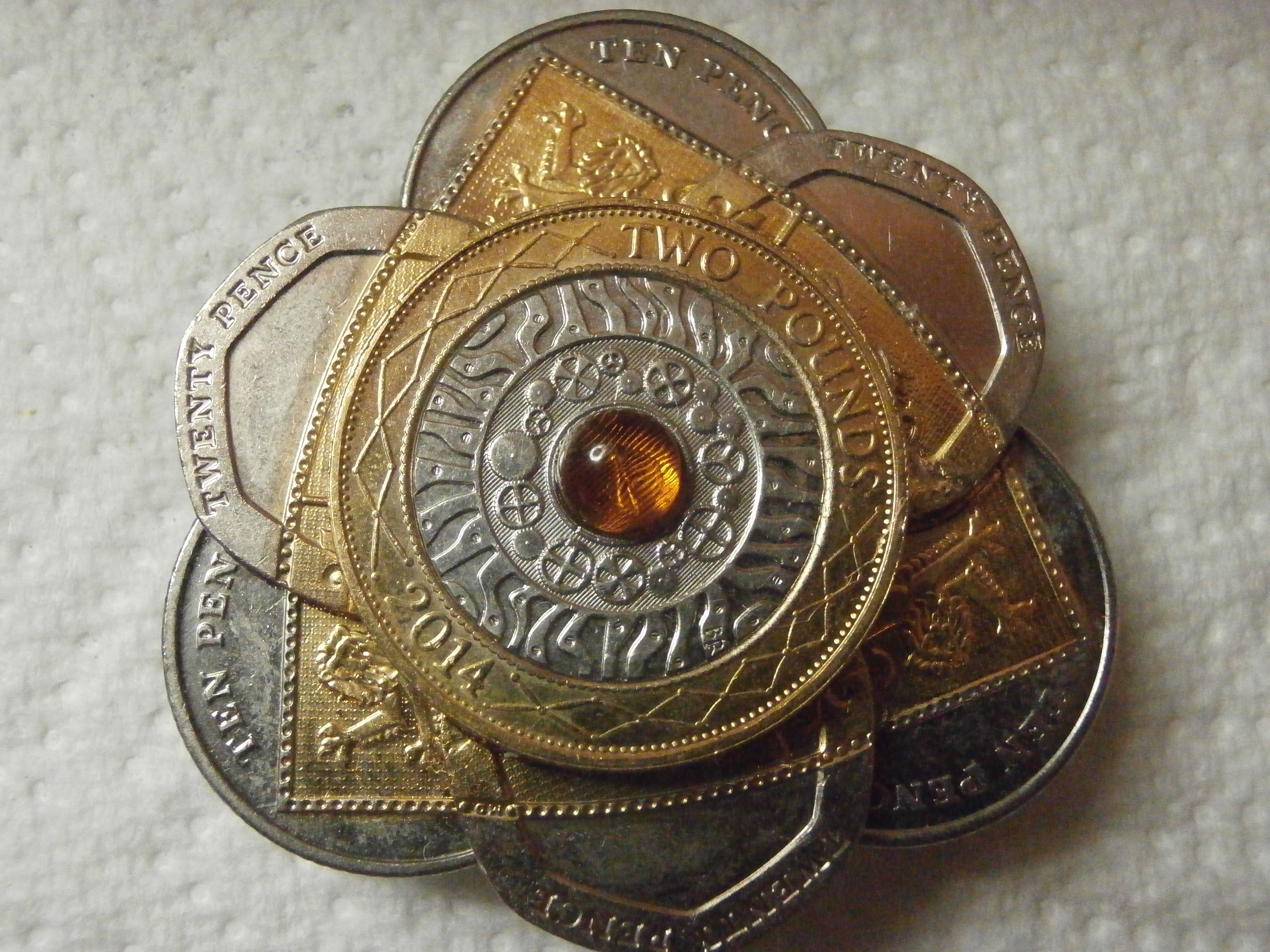 A Very Special Bolo Was Made From Very Back Ten Pence