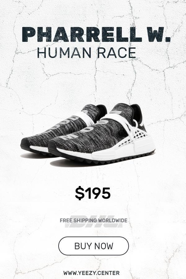 9e0b71ddebb01 Buy the perfect Human Race Adidas HU Trail Core Black   PW knock off shoes