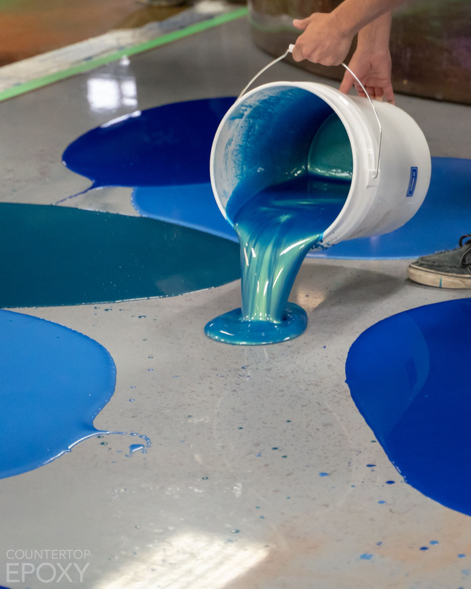 FX Poxy Flooring Epoxy is designed to coat any flooring