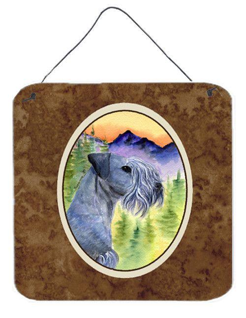 Cesky Terrier Aluminium Metal Wall or Door Hanging Prints