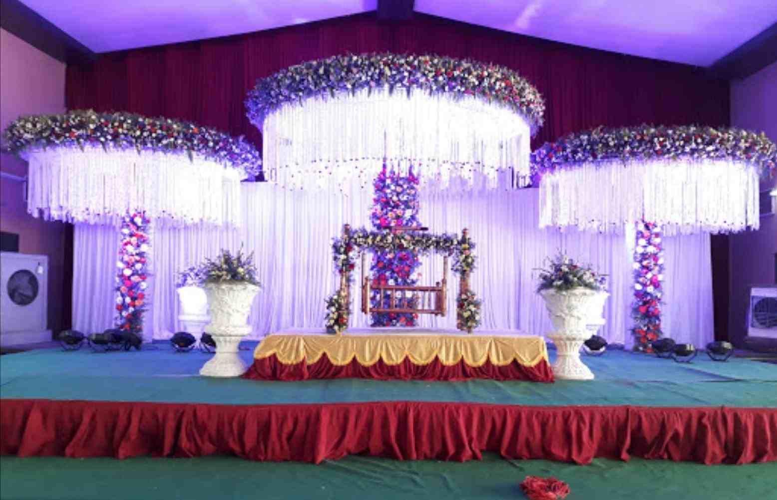 Simple Indian Wedding Reception Decorations Wedding Lover